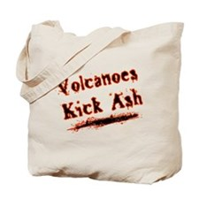 Volcanoes Kick Ash Tote Bag
