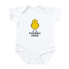 Kickball Chick Infant Bodysuit