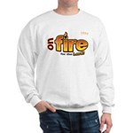 On Fire for the Lord 2 red Sweatshirt