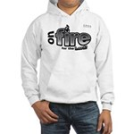 On Fire for the Lord 2 black Hooded Sweatshirt