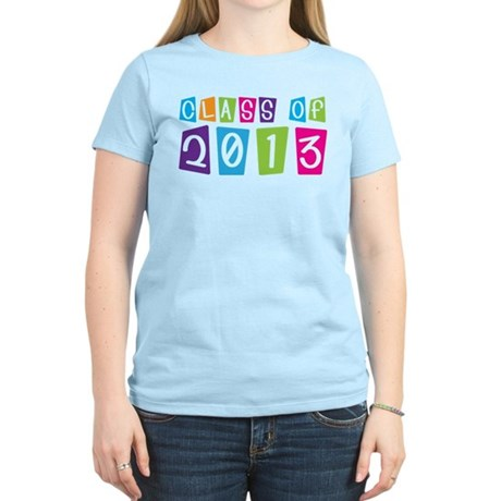 Class Of 2013 Colorful Women's Light T-Shirt