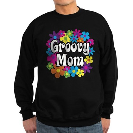Groovy Mom Sweatshirt (dark)