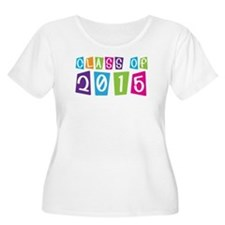 Colorful Class Of 2015 T-Shirt