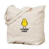 Fitness Chick Tote Bag