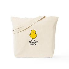 Finance Chick Tote Bag