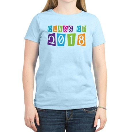Whimsical Class Of 2018 Women's Light T-Shirt