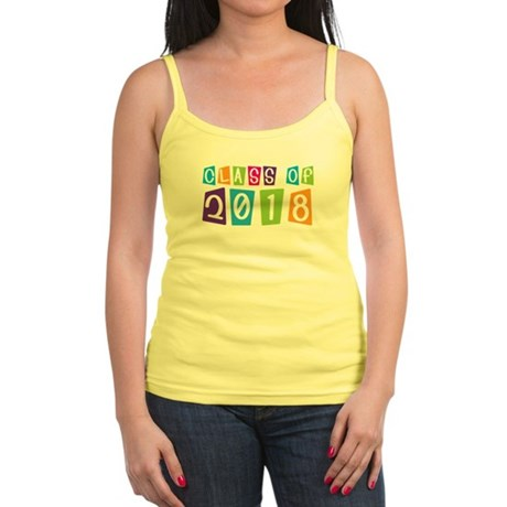 Whimsical Class Of 2018 Jr. Spaghetti Tank