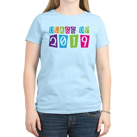Colorful Class Of 2019 Women's Light T-Shirt