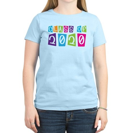 Colorful Class Of 2020 Women's Light T-Shirt