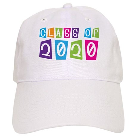 Colorful Class Of 2020 Cap