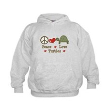 Peace Love Turtles Hoodie