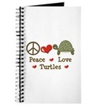Peace Love Turtles Journal