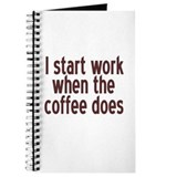 Start Working Coffee Journal