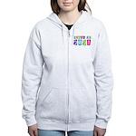 Colorful Class Of 2021 Women's Zip Hoodie