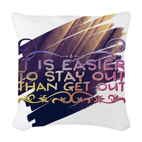 Skin Cancer Month Throw Pillow