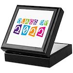 Colorful Class Of 2022 Keepsake Box