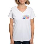 Whimsical Class Of 2023 Women's V-Neck T-Shirt