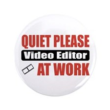 "Video Editor Work 3.5"" Button (100 pack)"