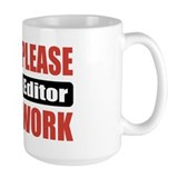 Video Editor Work Coffee Mug