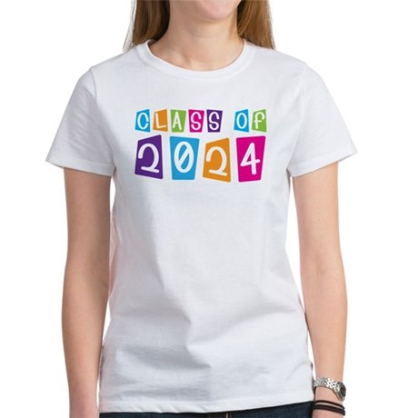 Colorful Class Of 2024 Women's T-Shirt