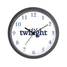 Twilight Clock Wall Clock