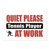 Tennis Player Work Postcards (Package of 8)