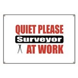 Surveyor Work Banner