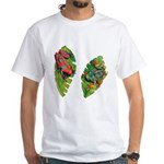 Leaf Frogs White T-Shirt