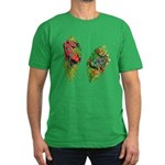 Leaf Frogs Men's Fitted T-Shirt (dark)