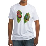 Leaf Frogs Fitted T-Shirt