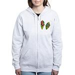 Leaf Frogs Women's Zip Hoodie