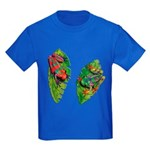 Leaf Frogs Kids Dark T-Shirt