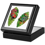 Leaf Frogs Keepsake Box
