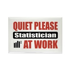Statistician Work Rectangle Magnet
