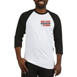 Squash Player Work Baseball Jersey