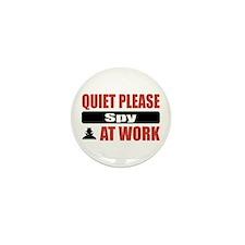 Spy Work Mini Button (100 pack)