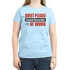 Sound Recorder Work T-Shirt