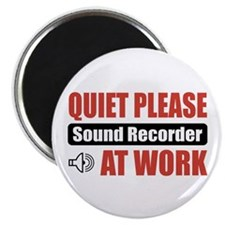 Sound Recorder Work Magnet