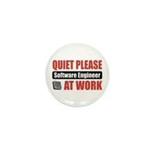 Software Engineer Work Mini Button (100 pack)