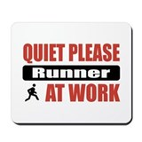Runner Work Mousepad