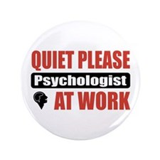 "Psychologist Work 3.5"" Button (100 pack)"