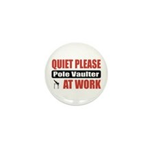 Pole Vaulter Work Mini Button (100 pack)
