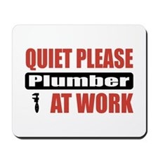 Plumber Work Mousepad