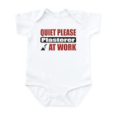 Plasterer Work Infant Bodysuit