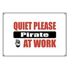 Pirate Work Banner