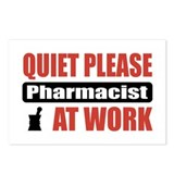 Pharmacist Work Postcards (Package of 8)