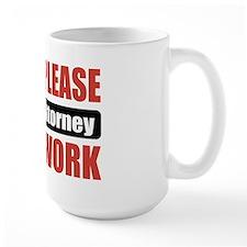 Patent Attorney Work Mug
