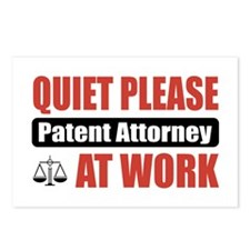 Patent Attorney Work Postcards (Package of 8)