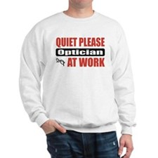 Optician Work Sweatshirt
