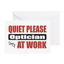 Optician Work Greeting Card
